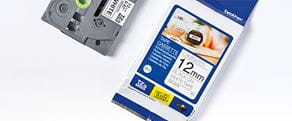 Ruban d'étiquettes TZe à utiliser avec une imprimante d'étiquettes P-touch
