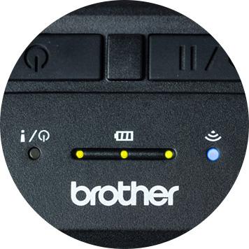 Geconnecteerde mobiele printer