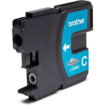 Brother LC980C inktpatroon