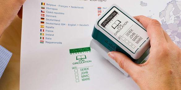 Brother Stamp Creator Pro workflow van documenten