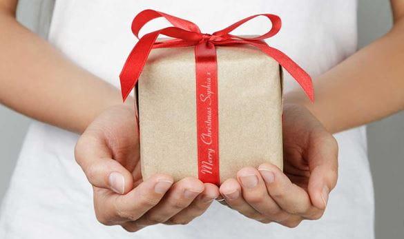 P-touch Cube cadeauverpakking