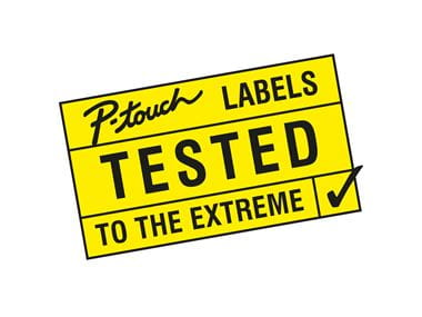 P-touch labels tested to the extreme