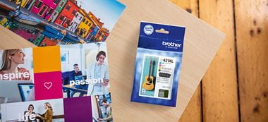 Brother LC421XL cartouches d'encre value pack