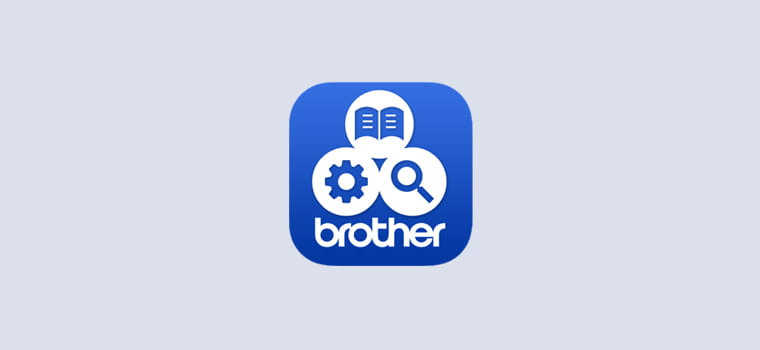Brother support centre app logo