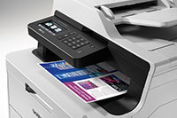 MFC-L3730CDN multifunction colour printer with colour print out