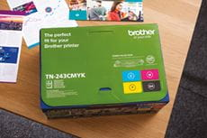 MultiPack cartouches toner originales Brother TN243