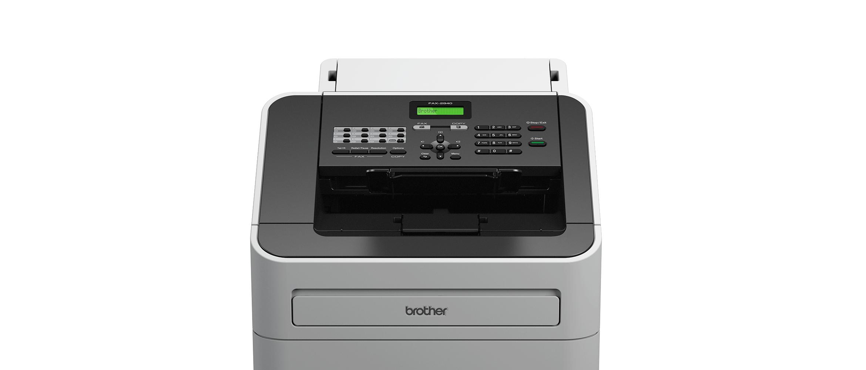 Detajl Brother faks naprave-spredaj