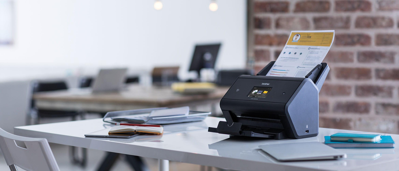 ADS-3600W скенер в оживен офис