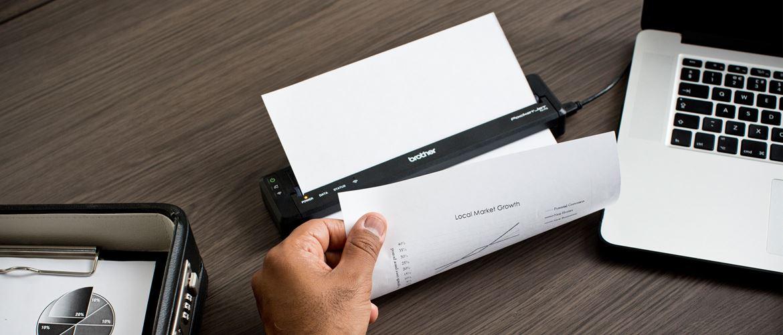 PJ tlačiareň dokumentov