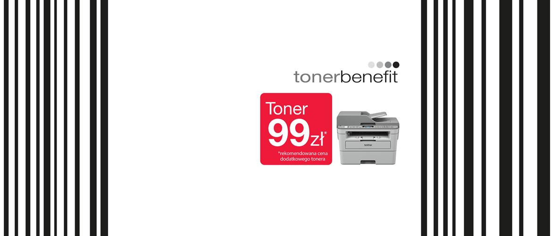 Promocja tonerbenefit - toner 99 pln