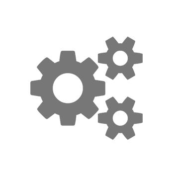 Икона с три сиви зъбни колела