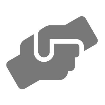 Ikona potřesení rukou
