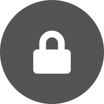 Bela ključavnica na sivem ozadju