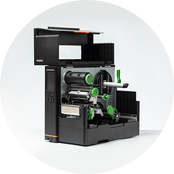 Otwarta przemysłowa drukarka TJ