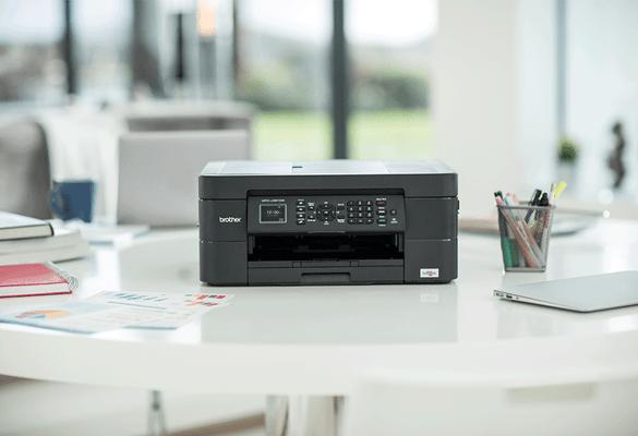 Мастиленоструен принтер Brother в домашен офис