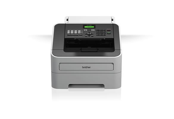 Brother fax  készülék fehér háttérrel