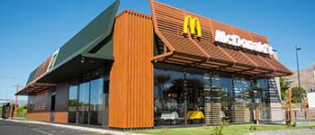 reštaurácia McDonalds