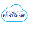 Logo cloudové aplikace Brother Connect Print Share