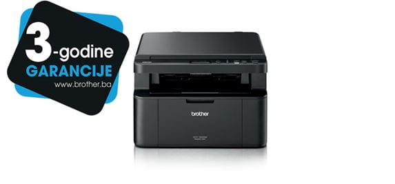 Brother printer DCP-1622WE product picture with 3yw logotype for Bosnia