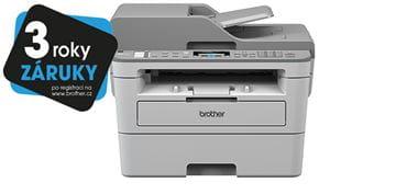 MFC-B7715DW printer with 3 years warranty sticker