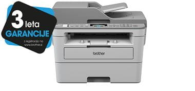 MFC-B7715DW printer with 3 years warranty sticker