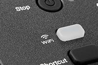 Przycisk WiFi w urządzeniu DCP-T420W