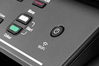 Wireless ikon a DCP-T520W készüléken