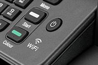 Ikona Wi-Fi w modelu MFC-T920DW