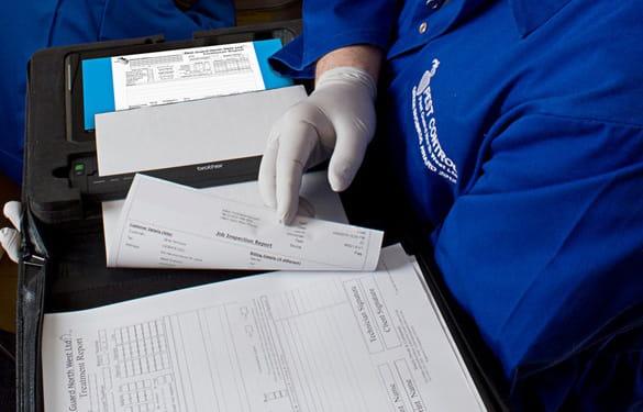 Wydruk dokumentów przy użyciu drukarki PJ