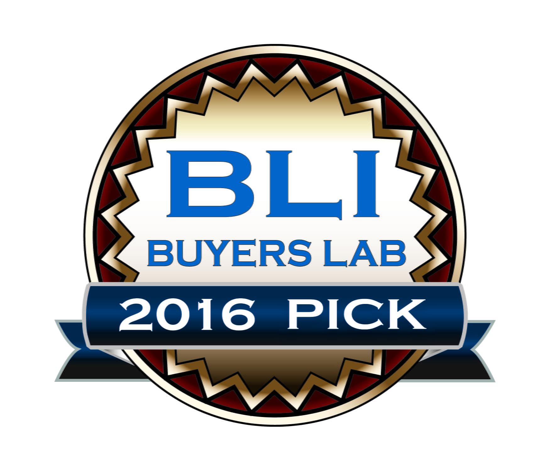 Logotyp BLI Buyers Lab 2016