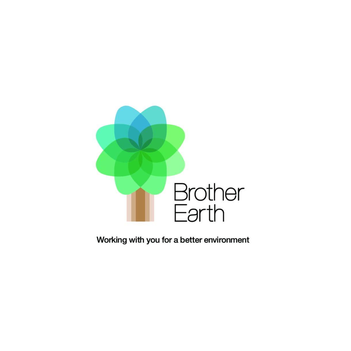 Brother Earth cu mesaj