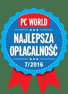 Odznaczenie PC World Najlepsza opłacalność 2016