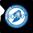 Logotyp zwycięzca Innowacja roku EOPA 2017