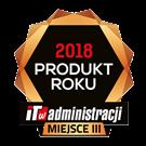 Znaczek IT w administracji produkt roku 2018 III miejsce