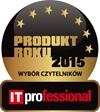 Znaczek IT Professional produkt roku 2015 wybór czytelników