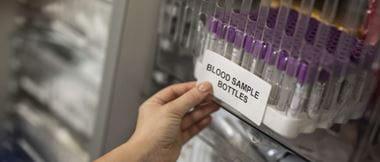 B33-Beschriftung für Labortests