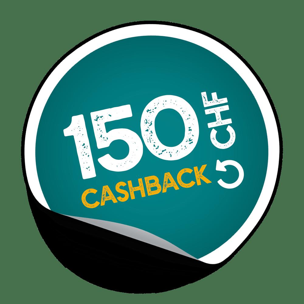 CashBack_Q3_CHF150