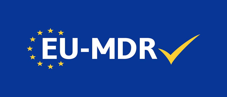 Logo der EU-Mediziprodukteverordnung (EU-MDR)