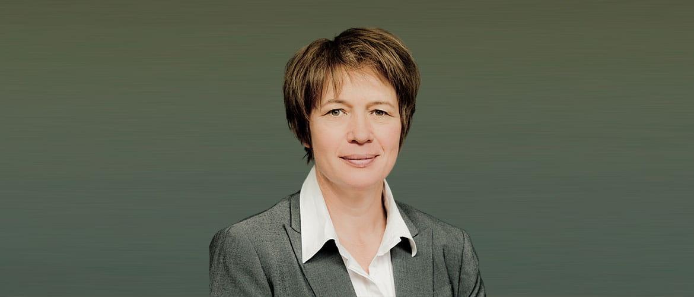 Portrait von Charlotte Künzell, CEO von ThinPrint