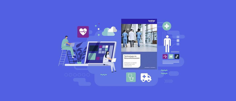 Vektorgrafik mit Healthcare Inhalten