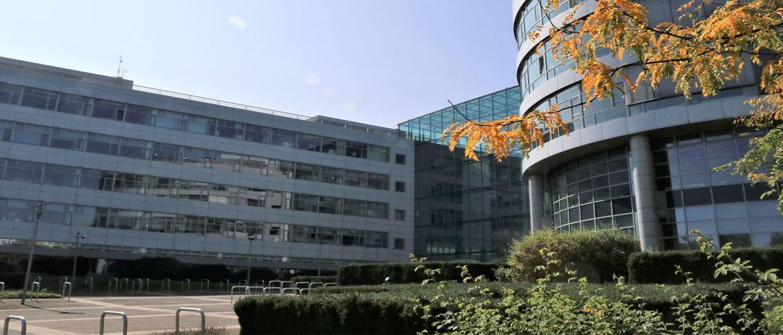 Bürogebäude von Brother Deutschland