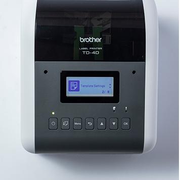 Brother TD-4D Desktop-Etikettendrucker