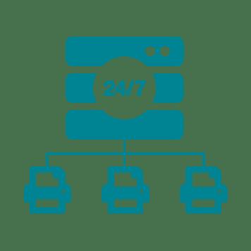 Icon Server Netzwerk