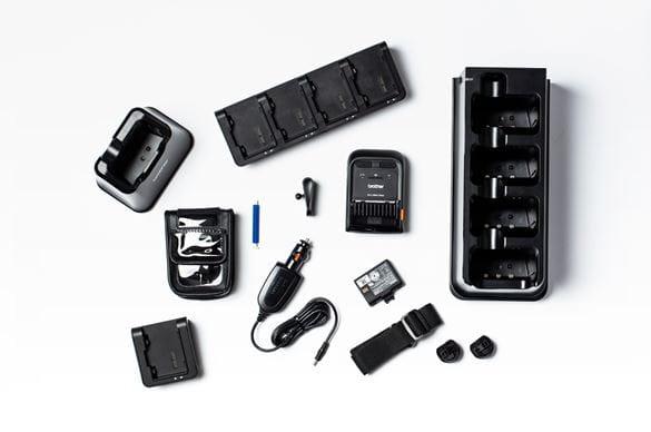 Zubehörteile für mobile RJ-Drucker