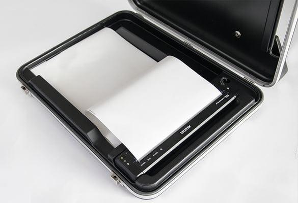 Kofferlösung für Mobile Drucker