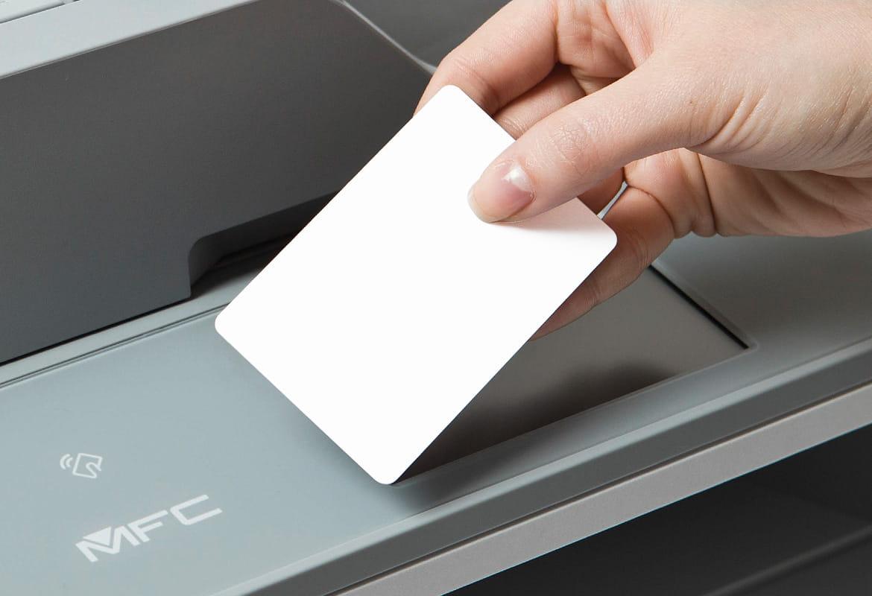 Integrierter Kartenleser