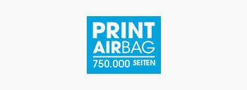 PRINT AirBag Logo, Druckvolumen 750.000 Seiten
