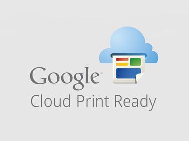 Google Cloud Print Ready