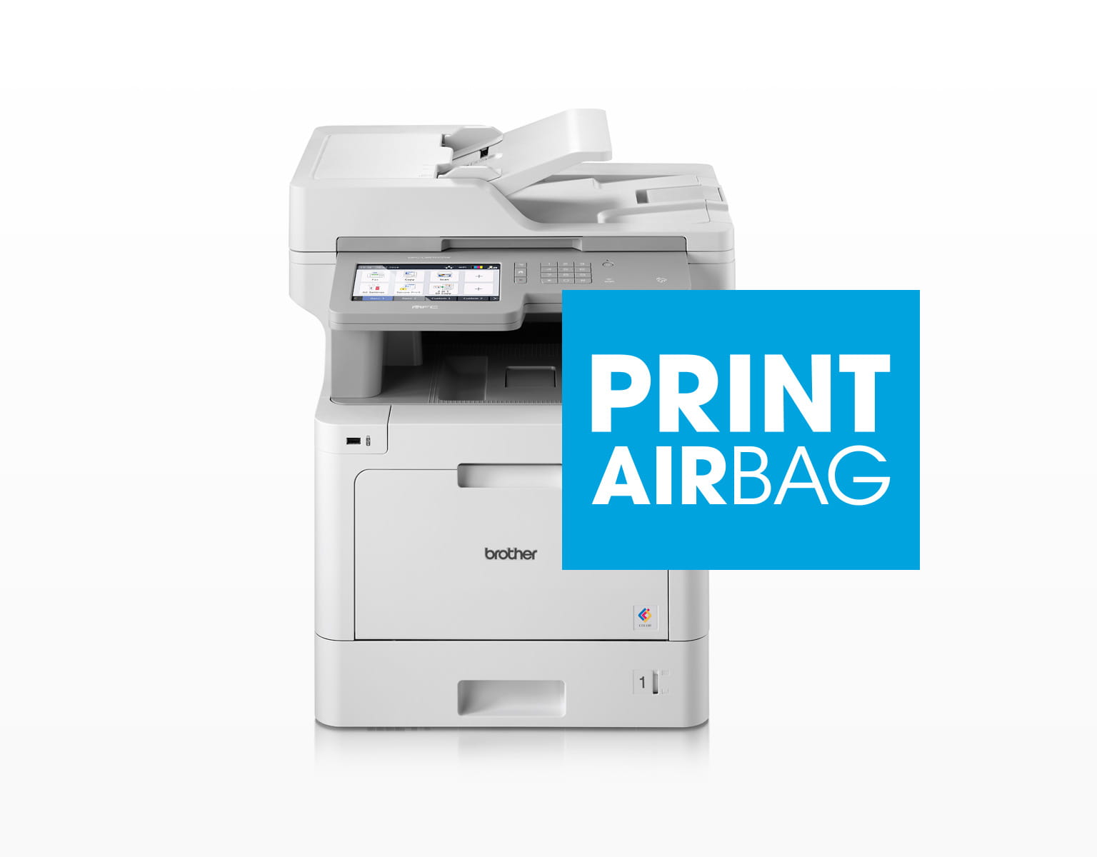 Brother Multifunktionsdrucker mit PRINT AirBag Logo
