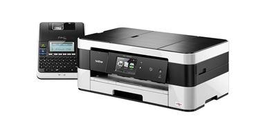 Tintenstrahldrucker und Beschriftungsgerät